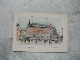 HOTEL GRAND HOTELL HAMAR NORWAY ILLUSTRATORE VEDI FIRMA