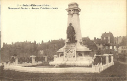 Saint Etienne Monument Dorian Avenue President Faure - Saint Etienne