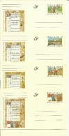 1997  Miniaturen - Miniatures   10 Kaarten-cartes - Stamped Stationery