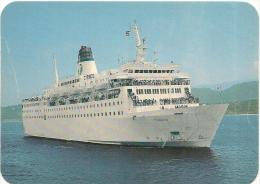 CPA-1974-FERRIE-LIAISION- CORSE-LE  CYRNOS II--TBE - Ferries