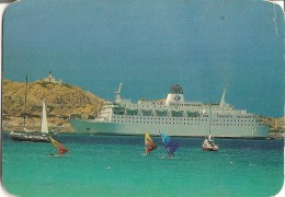 CPA-1974-FERRIE-LIAISION- CORSE-LE  CYRNOS II-a L ILE ROUSSE-BE - Ferries