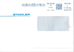 "Motiv Brief   ""Stadler Rail, Bussnang""          2004 - Lettres & Documents"
