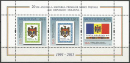 MD 2011 NATIONAL SIMBOL, MOLDAVIA, S/S, MNH - Briefmarken