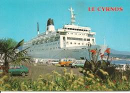 CPA-1974-FERRIE-LIAISION- CORSE-LE  CYRNOS II-a QUAI--TBE - Ferries