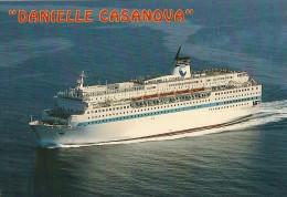 CPA-1980-FERRIES-PAQUEBOT -LIAISION - CORSE-Le DANIELLE CASANOVA-TBE - Ferries