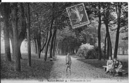 SAINT DIZIER : Promenade Du Jard - CPA Postée En 1913 - Saint Dizier