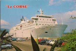 CPA-1960-FERRIES-PAQUEBOT -LIAISION - CORSE-Le CORSE-Dans Le PORT AJACCIO  -TBE - Traghetti