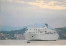 CPA-1970-FERRIES-PAQUEBOT -LIAISION - CORSE-Le CORSE-Dans Le PORT AJACCIO  -TBE - Traghetti