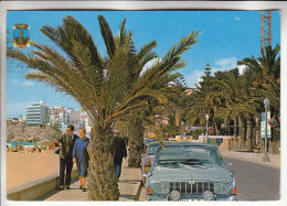 ESPANA - BENIDORM : Avenida Alcoy : Automobile (?) En Bon Premier Plan - CPSM 1974 GF RARE ? (0 Sur Le Site) - - Alicante