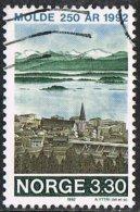 Norway SG1148 1992 250th Anniversary Of Molde And Kristiansund 3k.30 Good/fine Used - Gebraucht