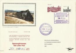 South Africa 1988  Locomotives Tourism  Souvenir Cover - Unclassified