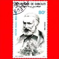 GIBUTI - Djibouti - Nuovo - 1985 - Victor Hugo, Romanziere, 1802-1885 - 80 - Gibuti (1977-...)