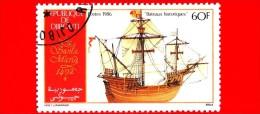 GIBUTI - Djibouti - Nuovo - 1986 - Le Navi Di Colombo, 1492 - Santa Maria - Ships - 60 - Gibuti (1977-...)