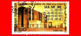GIBUTI - Djibouti - Nuovo - 1986 - Palazzi - Cablaggio Sottomarino - Sea-Me-We Biulding - 100 - Gibuti (1977-...)