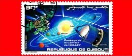 GIBUTI - Djibouti - Nuovo - 1986 - Passaggio Della Cometa Di Halley - 90 - Gibuti (1977-...)