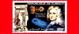 GIBUTI - Djibouti - Nuovo - 1986 - Passaggio Della Cometa Di Halley - Bayeux  - 85 - Gibuti (1977-...)