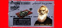 GIBUTI - Djibouti - Nuovo - 1987 - Samuel Morse (1791-1872) - 150 Anni Dell'invenzione Del Telegrafo -  250 P.aerea - Gibuti (1977-...)