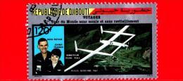 GIBUTI - Djibouti - Nuovo - 1987 - Voli Storici - Giro Del Mondo Senza Scali - Voyager - 120 P.aerea - Gibuti (1977-...)
