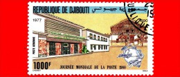 GIBUTI - Djibouti - Nuovo - 1988 - Giornata Mondiale Della Posta - 1000 P.aerea - Gibuti (1977-...)