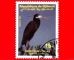 GIBUTI - Djibouti - Nuovo - 1991 - Uccelli Acquatici - Birds - Cicogna - Egretta Gularis - 15 - Gibuti (1977-...)
