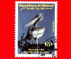 GIBUTI - Djibouti - Nuovo - 1991 - Uccelli Acquatici - Birds - Pellicano - Pelecanus Rufescens - 10 - Gibuti (1977-...)