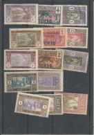 AOF / AEF. Lot De Timbres, Tchad, Niger, Sénégal, Côte D'Ivoire, Dahomey. - Chad (1960-...)