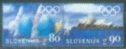 SI 2000-308-9 OLYMPIC GAMES SYDNEY, SLOVENIA, 2v, Used - Slovenia