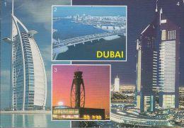 """UAE - Dubai - Views  - 2x Nice Stamp """"bird"""" - Ver. Arab. Emirate"""