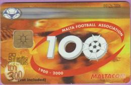 Malte  153  :-.   °  Malta  Football  Association   °=°   100th  Anniversary  **   T B E - Malte