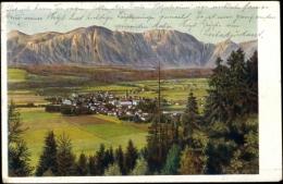 Künstler Ak Wörgl Tirol, Waldblick Zum Ort Im Tal, Gebirge - Autriche