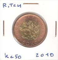 50 Kc République Tchèque / Czech Republic Bi-metallique / Bimetalic 2010 - Repubblica Ceca