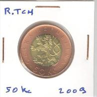 50 Kc République Tchèque / Czech Republic Bi-metallique / Bimetalic 2009 - Czech Republic