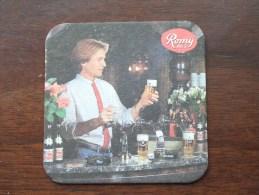 Romy Pils ( Brouwerij ROMAN - Sous Bock / Coaster / Onderlegger ) Zie Foto´s Voor Detail ! - Sous-bocks