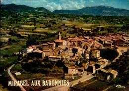 26-MIRABEL AUX BARONNIES...VUE GENERALE AERIENNE...CPM - France