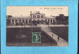 --174 )9)  MORLAIX  Gare Animée   ( Très Très Bon état ) - Morlaix