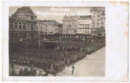 Soldats Allemands Bruxelles Deutschen Soldaten Brussel Deutsche Truppenparade Parade Allemande - War 1914-18