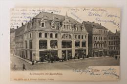 ALLEMAGNE - ZITTAU - RATHHAUSPLATZ MIT GEWANDHAUS - 1903 - Zittau