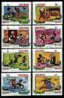 LESOTHO , 1983, Mint Never Hinged Stamp(s)  , Disney,   MI 433-440, #2672 - Lesotho (1966-...)