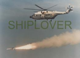 Hélicoptère SUPER FRELON - Grande Photo Originale 13x18 - Aircraft/helicopter - Aviation