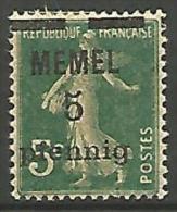 MEMEL  N � 18 NEUF* TB