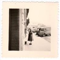 < Automobile Auto Voiture Car >> Belle Photo Originale 7 X 7, Camion Renault 'Garage'