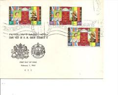 Ethiopie -Visite De La Reine Elisabeth II  ( FDC De 1965 à Voir) - Etiopía