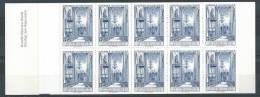 Suède 1967 Carnet Essai Cathédrale Uppsala Bleu - Proofs & Reprints