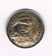 ¨¨  PENNING  ALBERT I ROI DES BELGES NOUVEAUTES AUX VARIETES  C Et A DE BAEROEMACKER - Elongated Coins