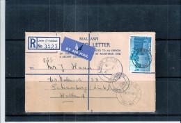 Lettre Recommandée Du Malawi Vers Holland 1965 (à Voir) - Malawi (1964-...)