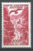 Andorre - Le Valira De L´ Orient -  PA 3 ( Variété Bande Rouge ) - Neufs ** - MNH - Correo Aéreo