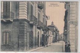 "Card.Cartolina Giulianova ""Corso Garibaldi""   Viaggiata -Italy Italia - Italia"