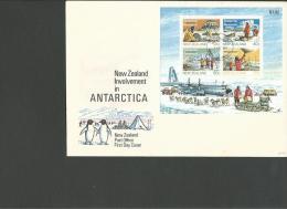 NOUVELLE ZELANDE : L., BF 49/env. Ill. Obl. PJ, 1 Feb.1984, TB - 1855-1907 Crown Colony