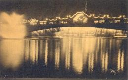 CPA PARIS - EXPOSITION DES ARTS DECORATIFS 1925 - FONTAINE ET CASCADE LUMINEUSES - Expositions