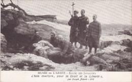 PARIS - Musée De L'Armée Eglise Des Invalides Tableau Nos Martyrs Pour Le Droit Et La Liberté De Joseph Aubert 1916 - Musées